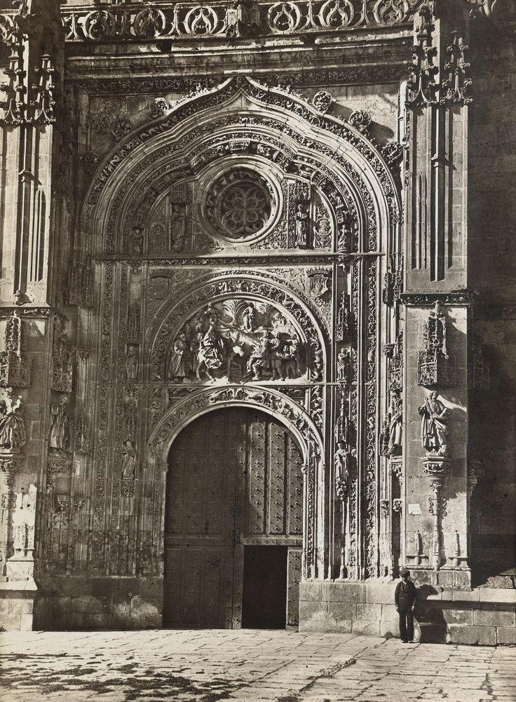Charles Clifford - Salamanca, Cathedral, North Gate, 1858