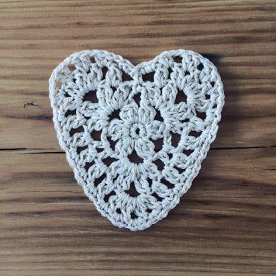 Annemarie's Haakblog: Crochet Heart Pattern