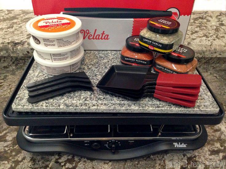 Dinner + Dessert With The Velata Raclette Grill #Velata #RacletteGrill