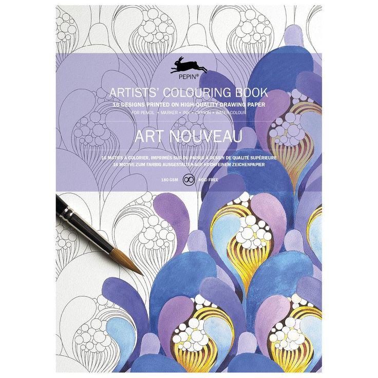オランダの「PEPIN」から。世界45ヶ国で販売実績のあるカラーリングブックが届きました。 高品質なアシッドフリー画用紙を使用し、多様な画材に対応。オリジナルのアウトラインは、塗り絵をした後、ほとんど見えません。 1枚ずつ切り離せるポスター型で16枚入り。 フレームに入れて飾れば、世界で一つのアート作品に仕上がります。 塗り絵は集中して楽しめるので、老若男女問わず、脳の活性化にもなり癒しにもなる活動です。 「アールヌーヴォー」とは、19世紀末から20世紀初頭にかけてヨーロッパを中心に開花した国際的な美術運動をさします。その影響範囲は工芸からファッション、アート、工業生産品、と幅広く大きな動きとなりました。 アール・ヌーヴォー・スタイルの特徴は、豊かな装飾性、流れるようなライン、しなやかで有機的な形などで、植物からインスピレーションを得ています。 このギフト包装紙の本に収録されているのは、細い曲線と装飾的な花を組み合わせて、アール・ヌーヴォーのオリジナルの家具から取られたもので、この芸術運動の特徴である、ゴールド、サーモン・ピンク、薄いブルーやグレーの美しい彩が再現されています。…