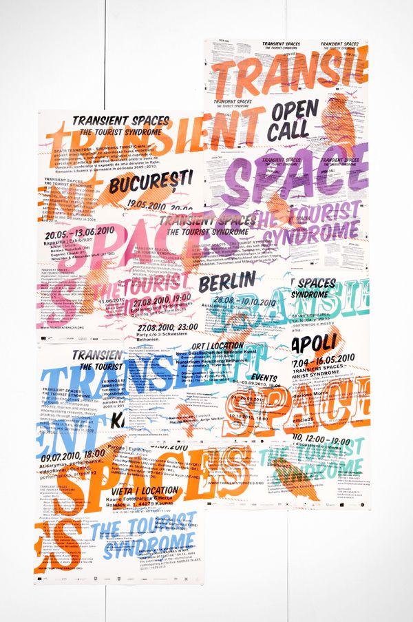 Eps51 graphic design studio: Transient Spaces