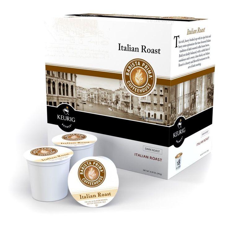 Barista prima italian roast 108 kcups trust me this