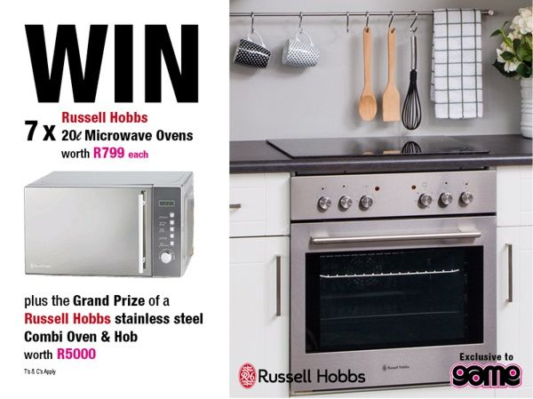 Win a microwave a day PLUS a grand prize oven worth R5000 with Russell Hobbs | Food24