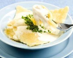 Ravioles de langoustines à la crème vanillée Ingrédients