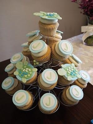 sea turtle cupcakes. too cute!