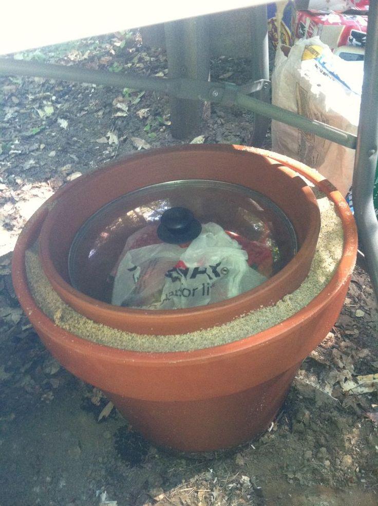 A Practical Zeer Pot (evaporative cooler / non-electrical refridgerator. /;)