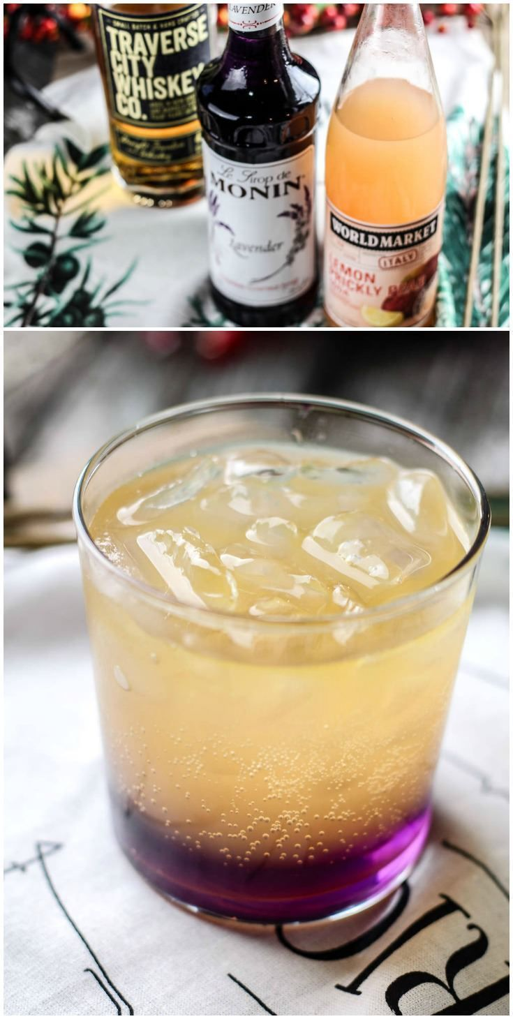 This hard lemonade recipe includes lavender syrup for a cocktail that both smells and tastes delicious! Learn how to mix it here. via @diy_candy