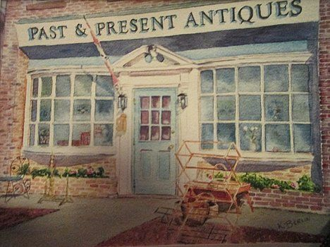 Past and Present Antques by Katherine  Berlin