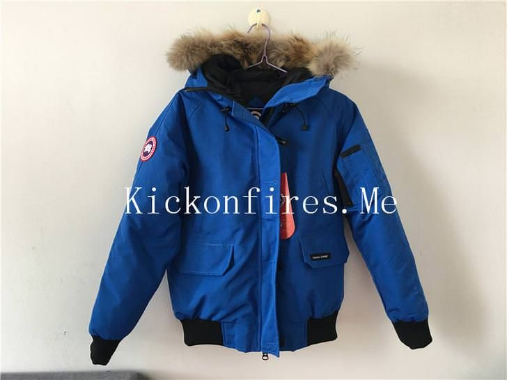 f2bb9bac824 Canada Goose Down Jacket Blue With Fur Removable | Fashion | Canada ...