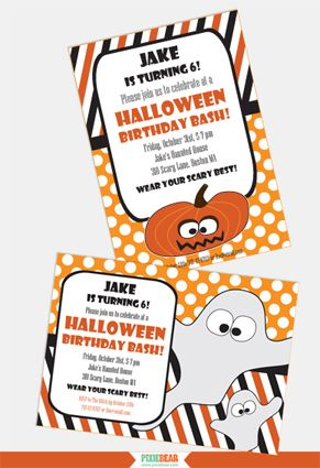 Best 20+ Halloween birthday invitations ideas on Pinterest ...