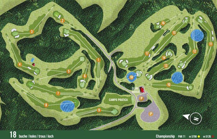 Dettaglio Buche - Golf Club Colli Berici - Vicenza, Veneto, Italy