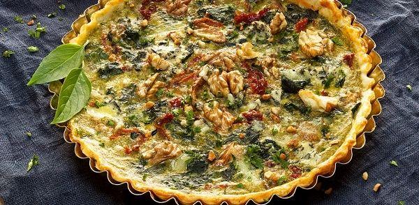 Mediterrane Spinazie Ricotta Taart recept | Smulweb.nl