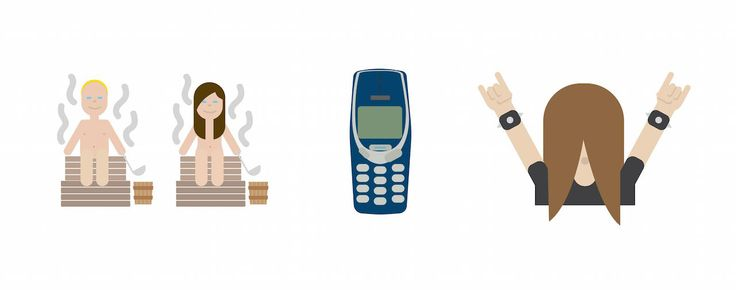 Finnish emojis designed by Bruno Leo Ribeiro of the Helsinki-based marketing firm Hasan & Partners. The full set will be available to download on December 1, and it will also appear in the Foreign Ministry's online advent calendar