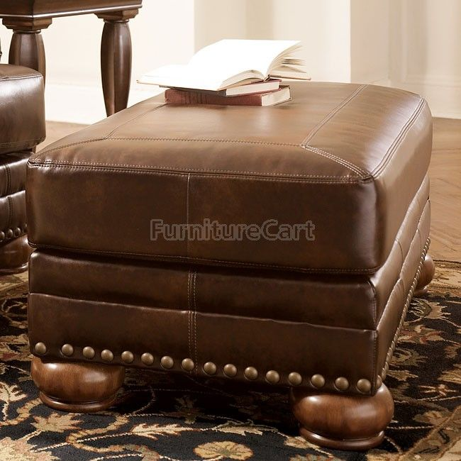 DuraBlend - Antique Ottoman$279