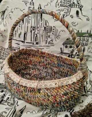 Плетение из газет | ВКонтакте