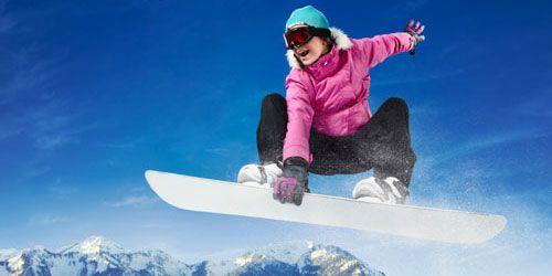 Ik doe ook aan snowboarden.