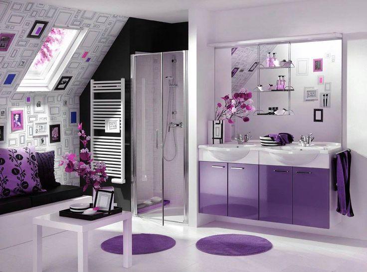 ... Throughout Bathroom Ideas Lilac