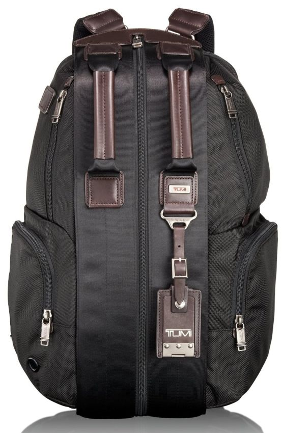 Tumi Luggage Alpha Bravo Travis Backpack. Not a big fan of backpack but this one is cool