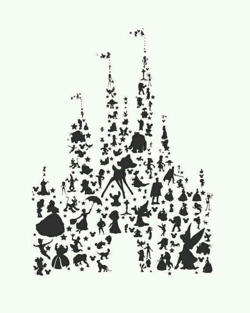 Imagem via We Heart It https://weheartit.com/entry/164301125 #background #cartoon #castle #classic #disney #drawing #illustration #mickeymouse #movie #peterpan #pixar #princess #tinkerbell #waltdisney #white #winniethepooh