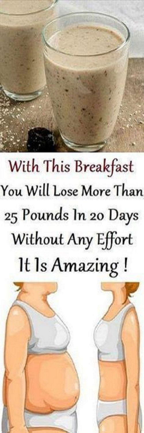Eat This For Breakfast, It Will Burn Your Stomach Fat