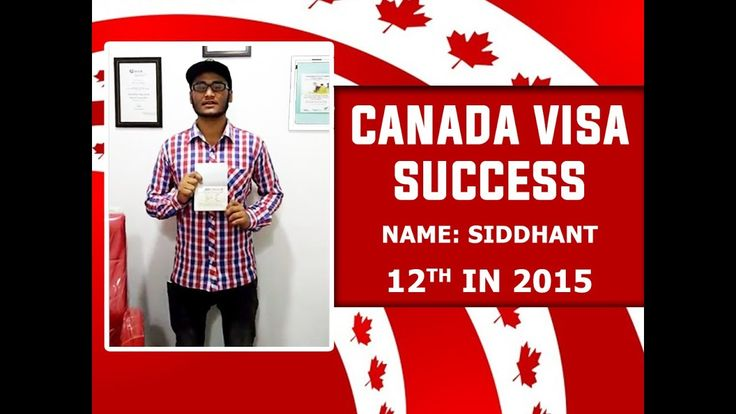 Canada Visa Success - 12th in 2015