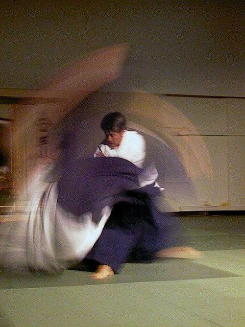 合気道が描く美しい投げの軌跡 | DDN JAPAN