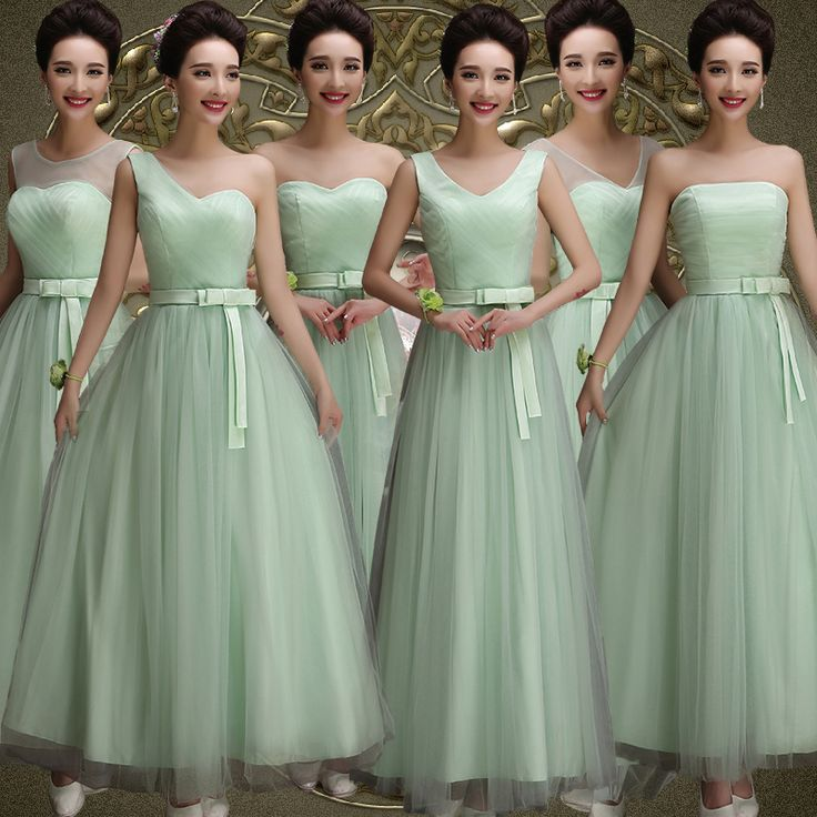 Find More Bridesmaid Dresses Information about Mismatched Champagne Chiffon A Line Bridesmaid Dresses Long 2017 Sheer Neck Lace up Cheap Prom Party Gowns vestido dama de honor,High Quality gown,China gown party Suppliers, Cheap gown jacket from Honey Qiao Official Store on Aliexpress.com