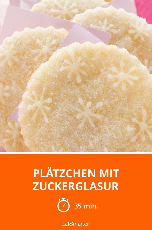 Plätzchen mit Zuckerglasur - smarter - Zeit: 35 Min.   eatsmarter.de