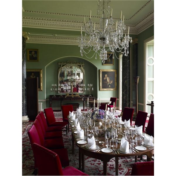 The dining room at Clandeboye House. From the archives of Country Life | Interiors | Pinterest ...