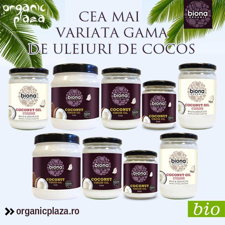 10% reducere la toate uleiurile de cocos bio de la organicplaza.ro Descopera-le mai jos: http://organicplaza.ro/uleiuri-diverse