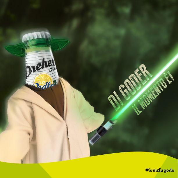 Dreger Riprende il modo di parlare del maestro Yoda