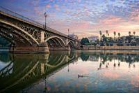 De Triana a Sevilla a color.