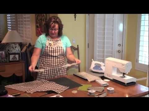 Stampin' Up! Demonstrator Jill Olsen demonstrating how to sew and create an Apron. Perfect for the Holiday season and a great idea for Christmas cheer. Might be a longer demonstration, but it's easy to follow and fun to create. Enjoy!