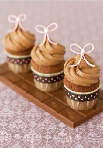 Gianduja Cupcakes by Patricia Arribálzaga