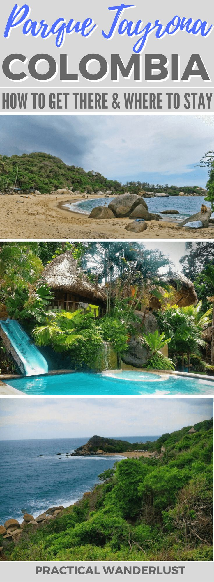 Parque Tayrona, Colombia wasn't what we were expecting. But maybe it was our own fault. Don't make the same mistakes as we did! Here's how to get to Parque Tayrona, tips for visiting, and where to stay.