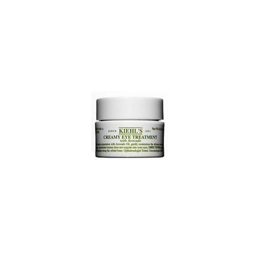 Kiehls - Creamy Eye Treatment with Avocado - .5 oz by Kiehl's. $26.99. This rich, creamy eye treatment contains Vitamin A, Avocado Oil and fatty acids, providing superb hydration to the delicate eye area. Our unique, non-migrating formula stays in place under the eyes. - Hydrating and gentle - Colorant and frangrance free - Ophthalmologist and dermatologist tested - Shea Butter and Sodium PCA condition skin.  .5 oz.