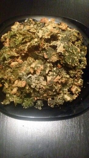 """Cheese"" flavoured Kale Chips"