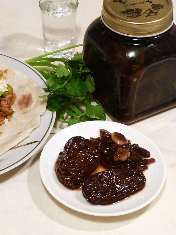 Чипотле маринованный - Pickled Chipotles - Chipotles en vinagre (Сhipotles escabechados)