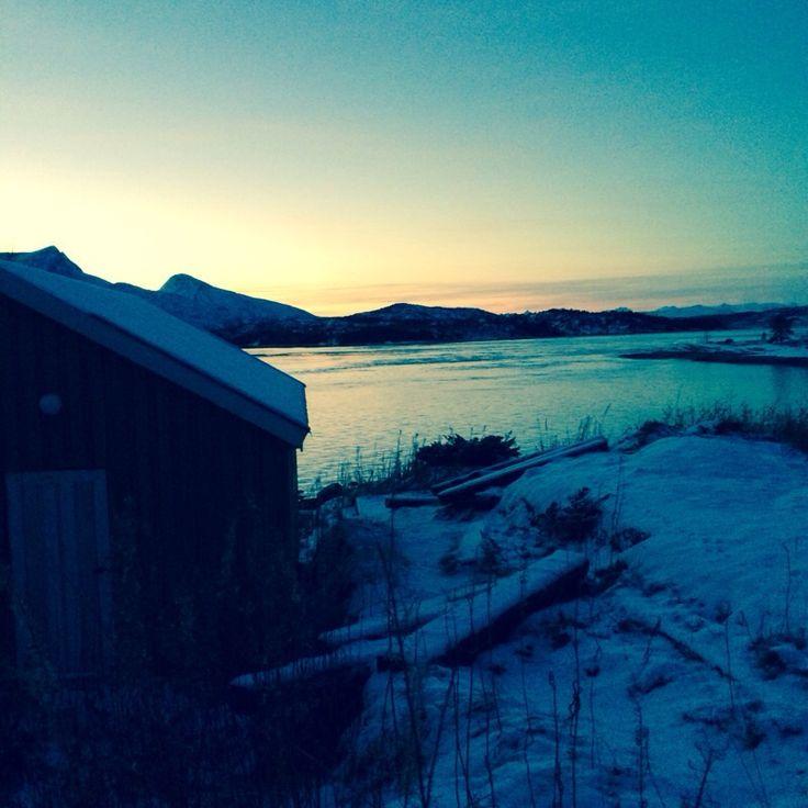 Halvarøy in Efjord, Ballangen #fjord #norway