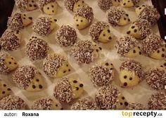 Vánoční cukroví - ořechoví ježci recept - TopRecepty.cz