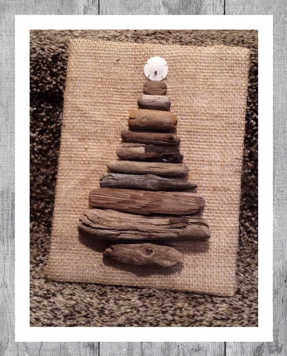 Found your rustic Christmas tree :)   5x7 driftwood Christmas tree decor by MFornelliDesigns, $10.00