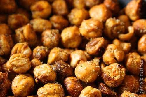 Roasted Chickpea Snack | Skinnytaste