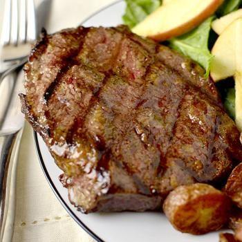 Dijon-Brown Sugar Marinated Steak