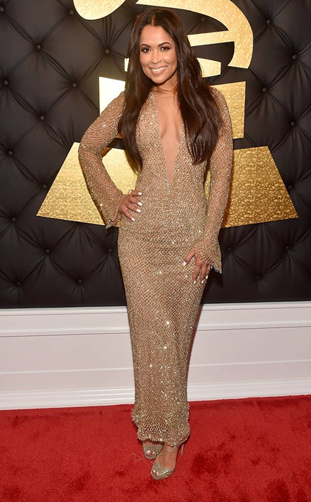 Tracey Edmonds from Grammys 2017 Red Carpet Arrivals