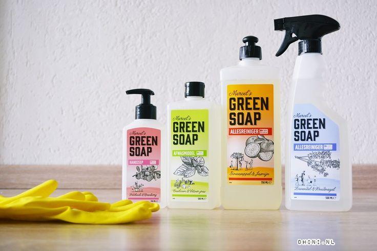 Marcel`s Green Soap : Natuurlijke schoonmaakmiddelen