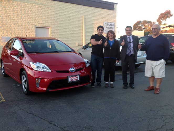 Congratulations on your new #Toyota! It is always great to assist our customers in choosing the car of their dreams!