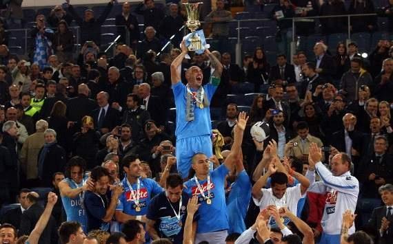 Napoli - Champion of Coppa Italia 2012