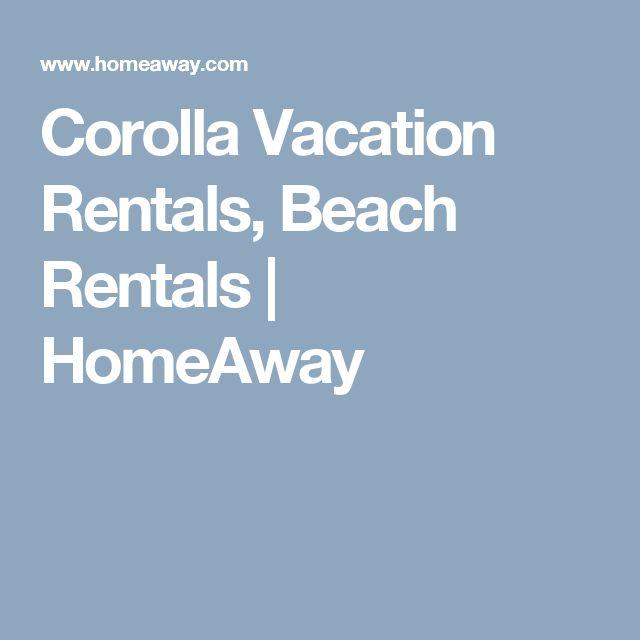 Corolla Vacation Rentals, Beach Rentals   HomeAway