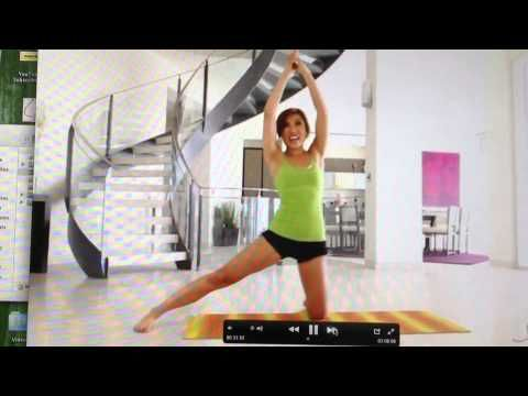 Funny Clip From POP Pilates DVD// Love this chick!!  Fun work outs that you can do from home!!