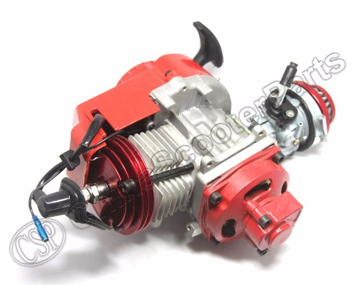 ==> [Free Shipping] Buy Best Racing 49CC Engine Alu Pull Start 15MM Carburetor CNC head Air filter Mini Moto Pocket ATV Quad Buggy Dirt Pit Bike Red Online with LOWEST Price | 32759056696